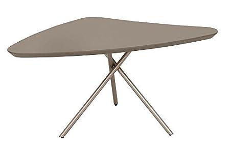 Living preciados 2181201601 de café de mesa de café, 45 x 60 cm, colour gris oscuro