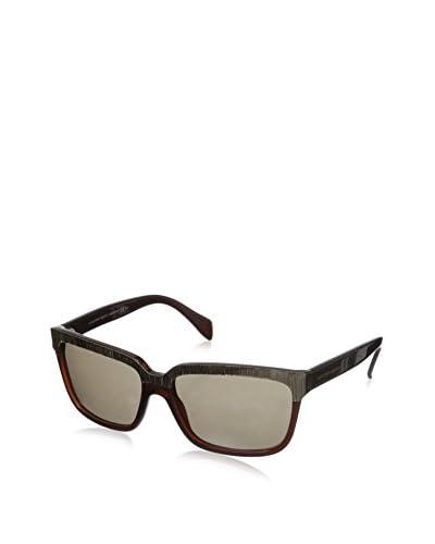 Alexander McQueen Women's 4191 Sunglasses, Dark Olive