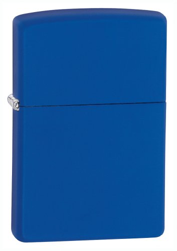 Zippo Royal Blue Matte Pocket Lighter
