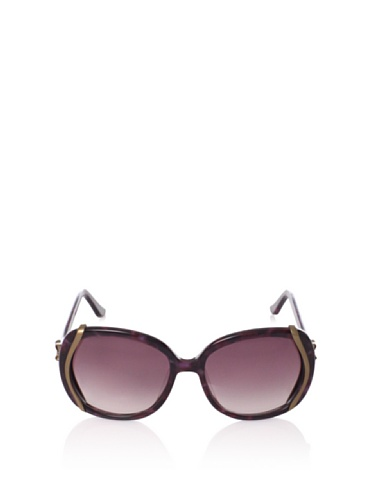 Moschino Moschino Women's MO616-02 Sunglasses, Burgundy