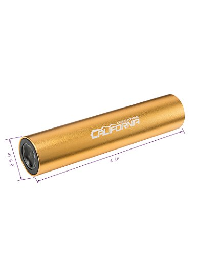 CALIFORNIA CADE ELECTRONIC 2600mah Lipstick Size Power Bank