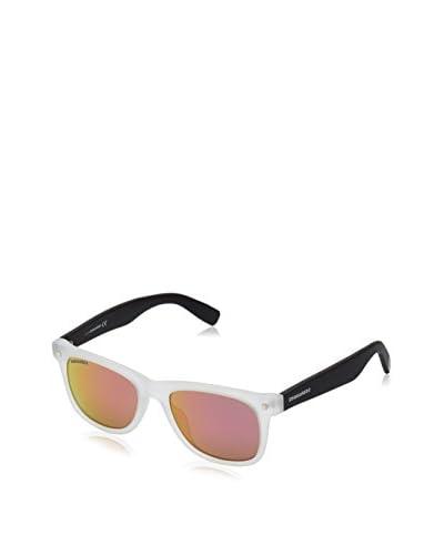 D Squared Sonnenbrille Dq0183 (53 mm) weiß/schwarz