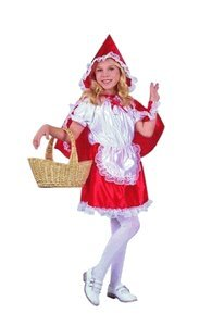 RG Costumes 91124 Deluxe Red Riding Hood Costume - Size Child