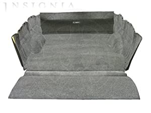 "GM # 19171175 Carpet Bed Rug - With GMC Logo - For Trucks without Cargo Management System Rails - 6'6"" Standard Box from GM"