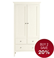 Hastings Double Wardrobe