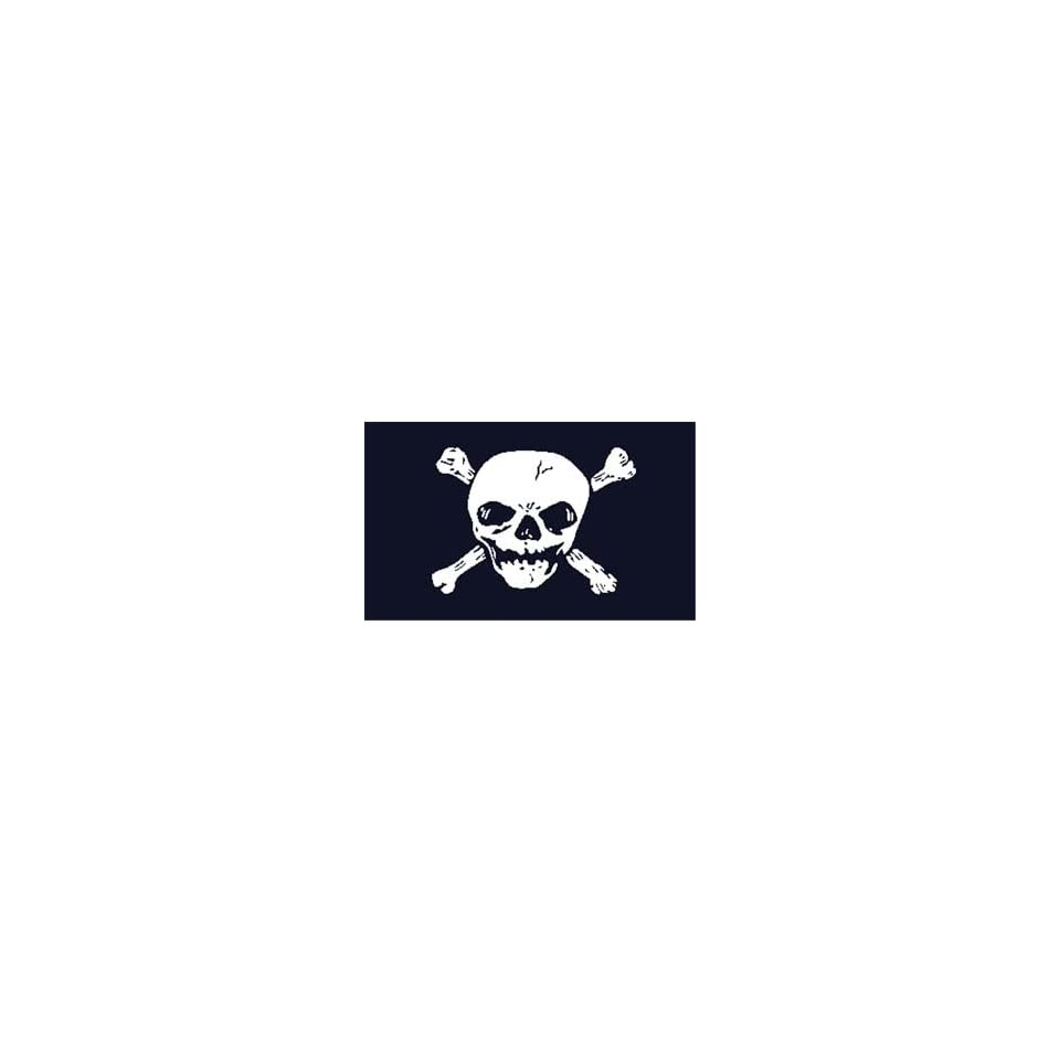 Pirate  Big Skull  Flag 3ft x 5ft printed polyester