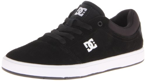 DC Shoes Mens Crisis M Shoe Low-Top ADYS100029 Black/White 7 UK, 40.5 EU