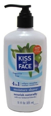 kiss-my-face-moisture-shave-11oz-fragrance-free-4-in-1-pump-2-pack-by-kiss-my-face