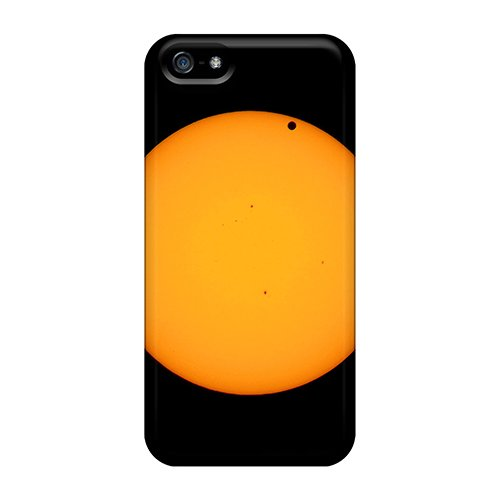 New Premium Flip Case Cover Venus And Sun Telescope Skin Case For Iphone 5/5S