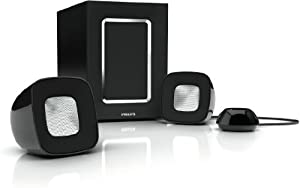 Philips SPA2360/17 Multimedia Speakers 2.1 (Black)