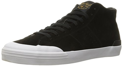 C1RCA Men's Fremont Mid Skateboarding Shoe, Black/Gold, 12 M US