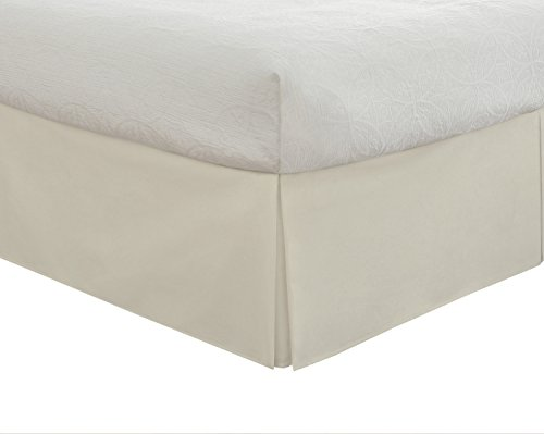 lux-hotel-bedding-tailored-bedskirt-classic-14-drop-length-pleated-styling-queen-ivory