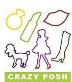 Crazy Bandz Shaped Rubber Bands Bracelets 24Pack Posh