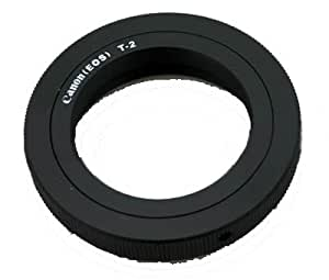 T2 Lens Ring Adapter Mount to Canon EOS EF 1D 5D 6D 7D,50D 60D 70D,1100D 1200D 100D 700D 650D 600D 550D 500D SLR & DSLR Cameras.