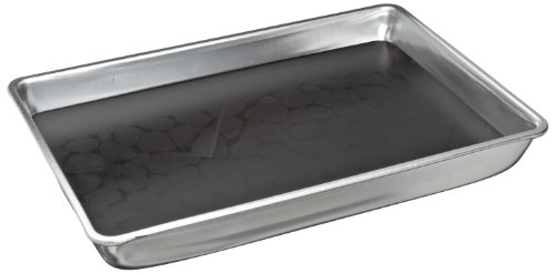 "American Educational Aluminum Large Dissecting Pan With Wax, 13-1/8"" Length X 9-3/8"" Width X 2-1/4"" Height"