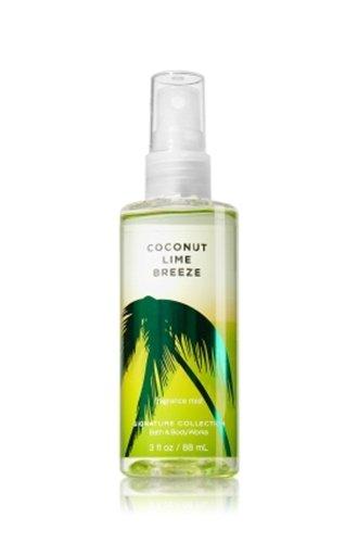 バス&ボディワークス ココナッツライムブリーズ ファイン フレグランスミスト トラベルサイズ Coconut Lime Breeze Fine Fragrance Mist TravelーSize