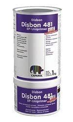 Caparol Disbon 481 EP-Uniprimer 5 kg Marrone scuro