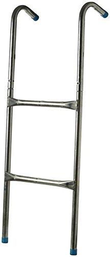 Trampolin Leiter - silber, Größe INT:-