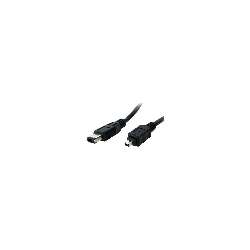 StarTech.com 1394MM1 1 Feet IEEE-1394 Firewire Cable 6-6 M//M
