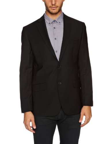 Esprit Men's Comfort Fit Jacket Black XXXL