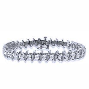 4 Carat Diamond 10k White Gold