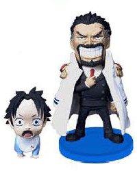 One Piece World Collectible Vol. 0 Figur (WCF): Monkey D. Garp & Baby Ace