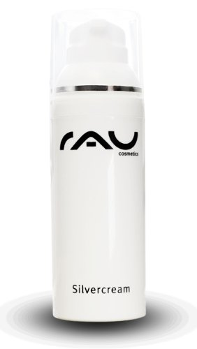 RAU Silvercream 50 ml - Our top seller face cream for problem skin with micro silver BG and zinc is an effective treatment of acne and blemished skin