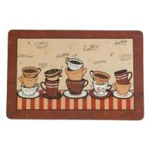 Amazon.com: Comfort Floor Mat Java Shop Coffee Cup Home Decor ANTI ...