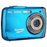 31df8OGx3KL. SL160  Bell+Howell Splash WP7 12 MP Waterproof Digital Camera Blue