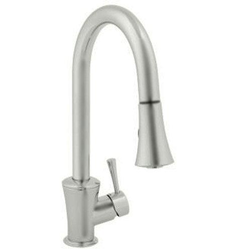 Jado 803/840/355 Basil Pull-Down Kitchen Faucet, UltraSteel