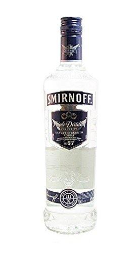Smirnoff discount duty free SMIRNOFF Blue Russian Vodka 70cl Bottle
