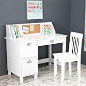 Kidkraft Study Desk With Side Drawers White Best Deals Toys