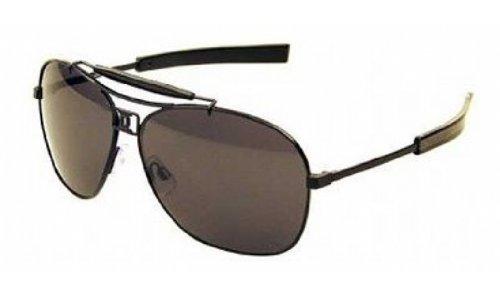 Dsquared2 Unisex Dq0002 Navigator Sunglasses,Black Frame/Smoke Lens,One Size