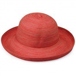 womens-wallaroo-sydney-sun-hat-adjustable-and-foldable-red-one-size