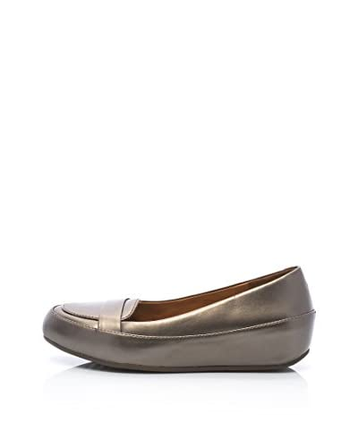 FitFlop Mocassino Due Tm Pop Loafer [Bronzo]