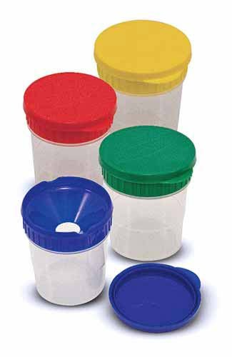 Melissa & Doug Spill Proof Paint Cups, Set of 4