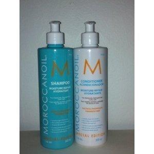 Moroccanoil 16 Oz Shampoo & Conditioner Set with Pump