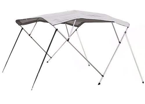 4 Bow Bimini Pontoon Deck Boat Cover Top 91-96