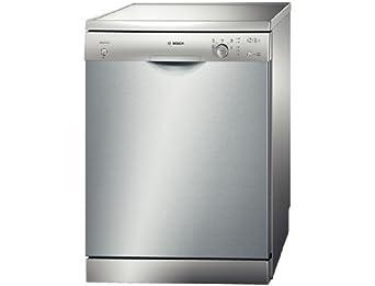 Bosch SMS50D48EU lave-vaisselle - laves-vaisselles (Autonome, A, A+, Acier inoxydable, boutons, Rotatif, Économie, Intensif, Normal, Pré-rinçage, Rapide)