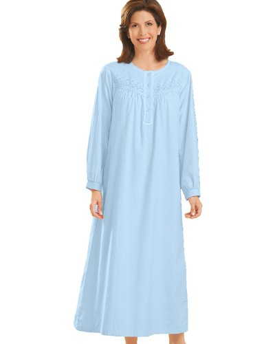National Brushed Flannel Nightgowns