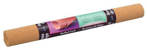 Quartet Natural Cork Roll, Bulletin Board Cork, 24 x 48 Inches (103)