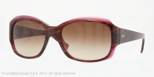 DKNYDKNY 4048 342413 Brown Striped Violet 4048 Square Sunglasses Lens Category 3