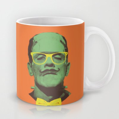Society6 - Mr Frank Coffee Mug By Victor Vercesi