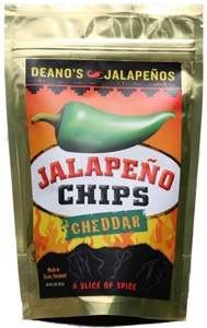 Hot Sauce Depot 60418000 Deanos Jalapeno Chips- Cheddar, 2.25oz - Pack of 3 from Hot Sauce Depot