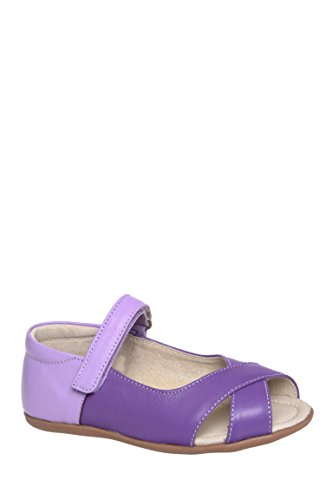 Girls Marnie Peep Toe Summer Mary Jane Flat