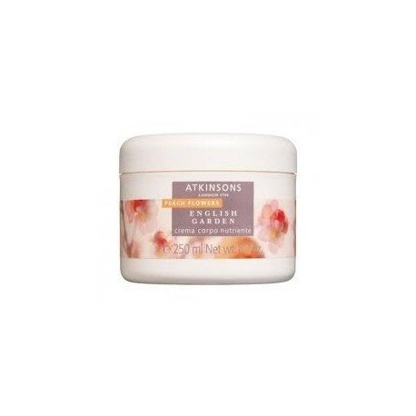 Atkinsons English garden - Peach Flowers - Crema corpo addolcente 250 ml