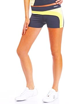 bebe.com : BBSP Spliced Shorts :  shorts color block hot workout wear