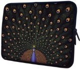 Mygift 14 Inch Fascinating Peacock Notebook Laptop Sleeve Bag Carrying Case For Most Of Macbook, Acer, Asus, Dell, Hp, Lenovo, Sony, Toshiba