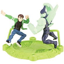 Ben 10 Mini PVS Ben & Diamondhead 2.5 inch 2 pack Mini Figure - 1