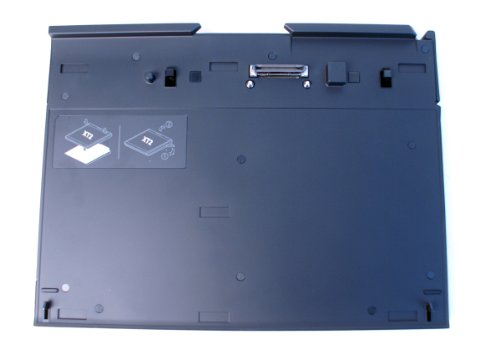 Genuine Dell YYXC8, PR12S Black Multimedia Base Docking Station With DVD±RW Optical Drive For Latitude XT2 Series Tablets Laptops Notebooks PC Compatible Part Numbers: YYXC8, 0YYXC8, PR12S at Electronic-Readers.com